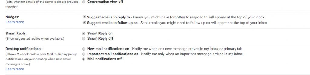 Gmail Tricks and Tips - Make Your Gmail Better email notifcations