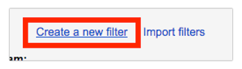 """Go to the """"Filters and Blocked Addresses"""" Tab"""