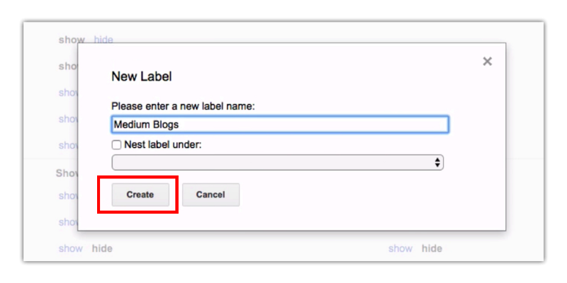 How to Create Labels in Gmail (Tips and Tricks) MEDIUM BLOGS